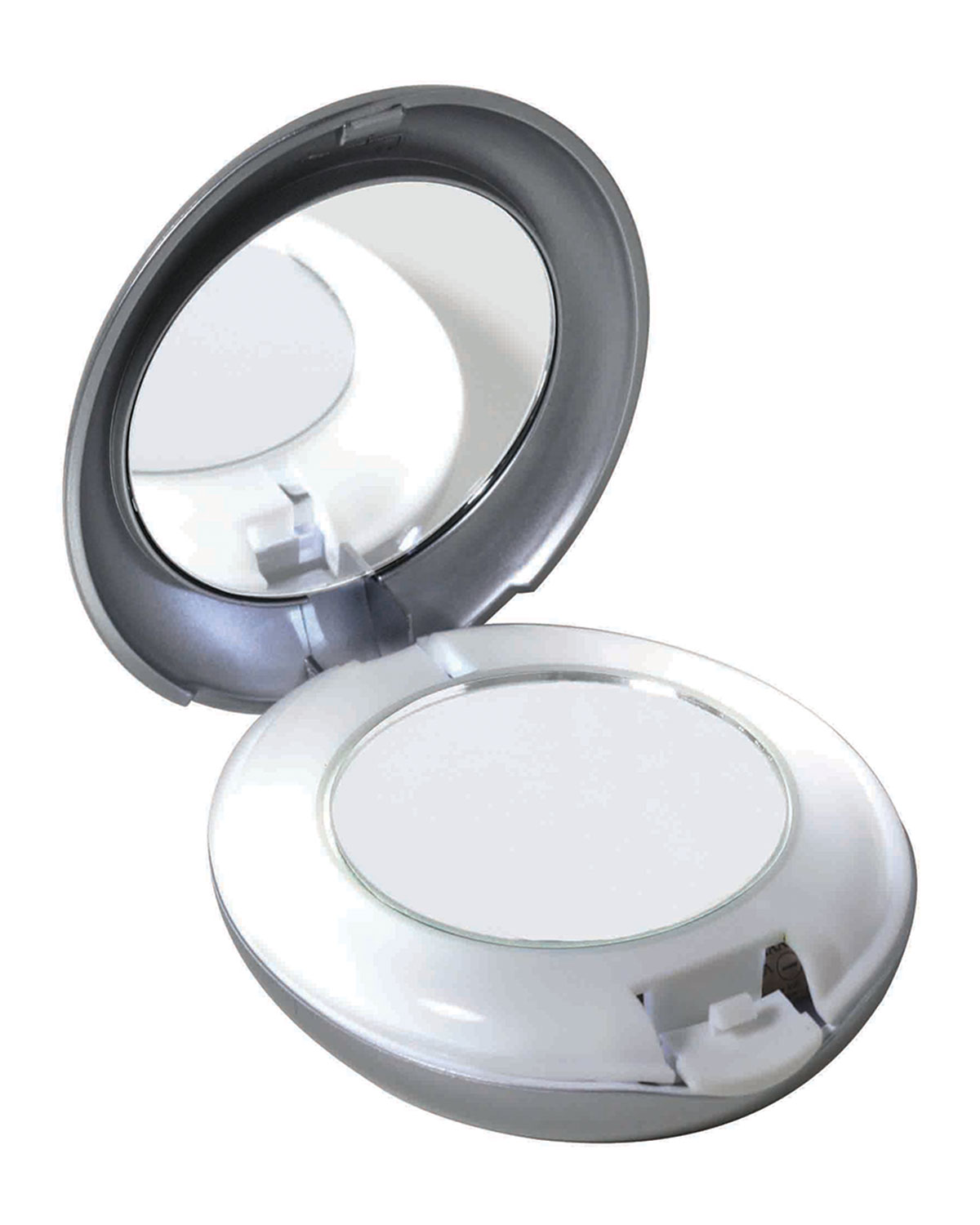 Led Lighted 10x 1x Compact Mirror