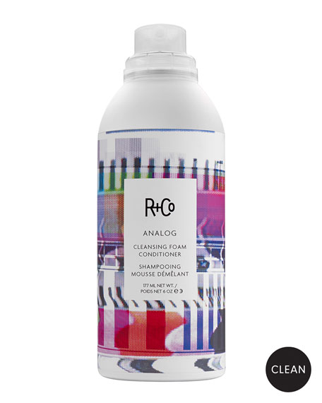 R+Co ANALOG Cleansing Foam Conditioner, 6 oz.