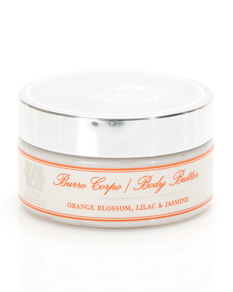 Orange Blossom , Lilac & Jasmine Body Butter, 8 oz.