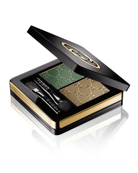 Gucci Makeup Magnetic Color Eye Shadow Duo, Agate