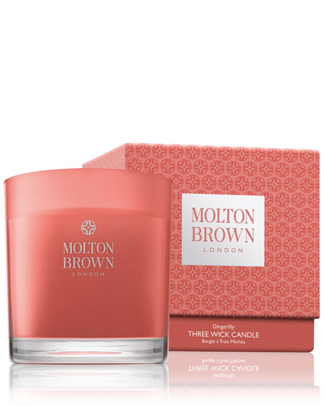 Molton Brown Gingerlily Three-Wick Candle, 17.6 oz.