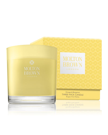 Molton Brown Orange & Bergamot Three Wick Candle,