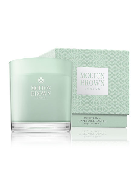 Molton Brown Mulberry & Thyme Three Wick Candle,
