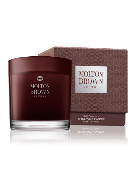 Molton Brown Black Peppercorn Three Wick Candle, 16.9