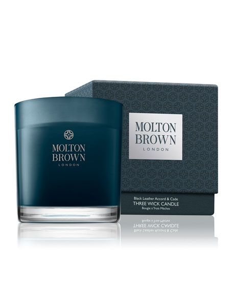 Molton Brown Black Leather Accord & Cade Three