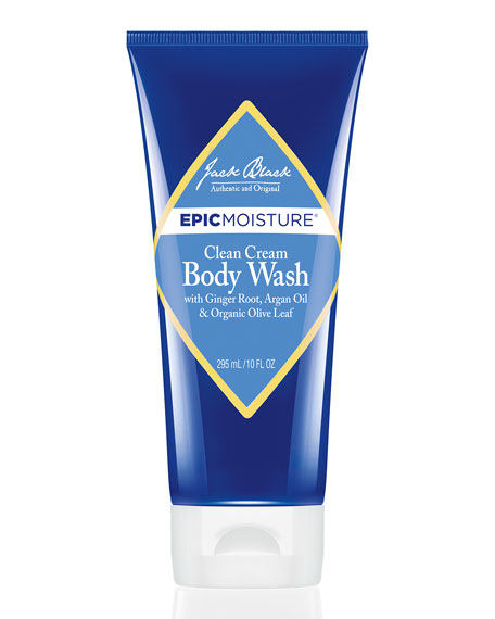 Jack Black Clean Cream Body Wash, 10 oz.