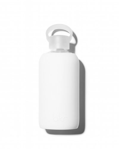 Glass Water Bottle, Winter, 500 mL