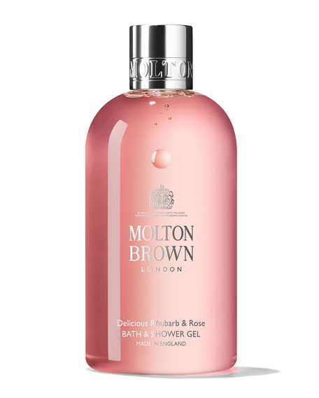 molton brown delicious rhubarb rose bath shower gel 10 oz 300 ml neiman marcus. Black Bedroom Furniture Sets. Home Design Ideas