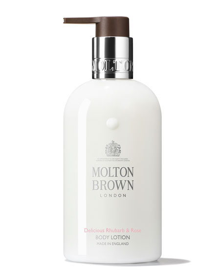 Delicious Rhubarb & Rose Body Lotion, 10 oz./ 300 mL