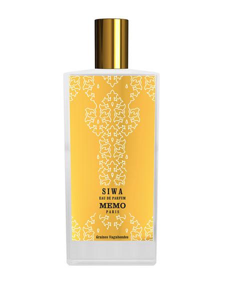 Memo Paris Siwa Eau de Parfum Spray, 2.5