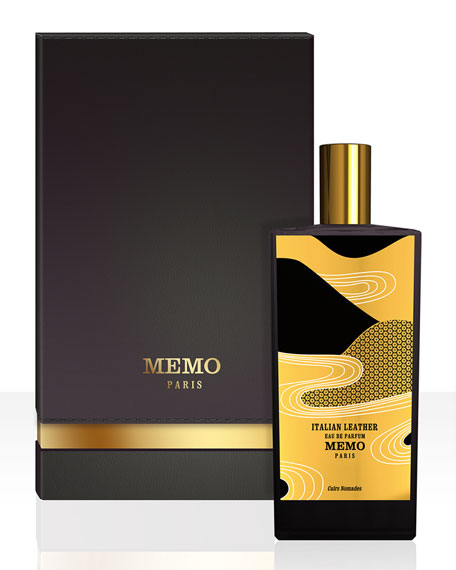 Memo Fragrances Italian Leather Eau de Parfum Spray,