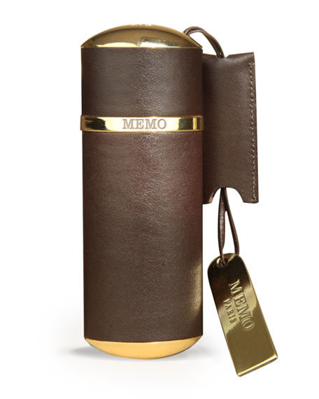 Memo Fragrances Purse Spray Leather Brown Empty, Holds