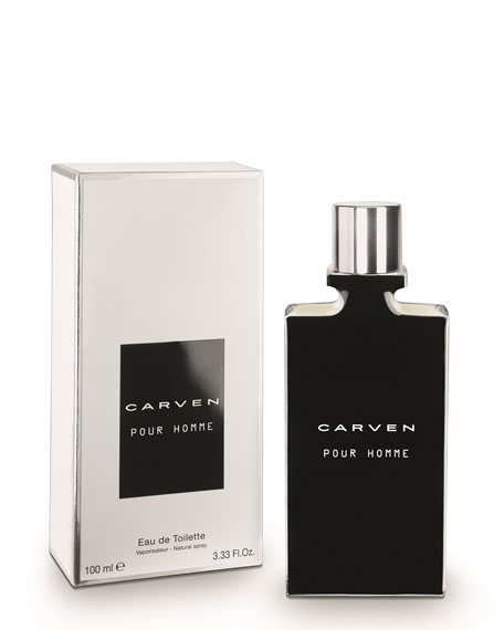 carven carven pour homme eau de toilette 3 3 oz. Black Bedroom Furniture Sets. Home Design Ideas