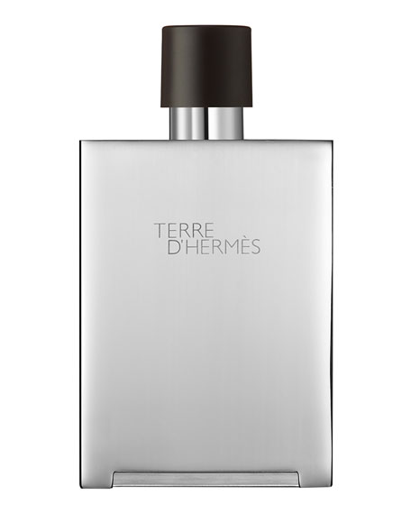 Terre d'Hermès  Eau de Toilette Bel Objet Metal Refillable Spray, 5 oz./ 148 mL
