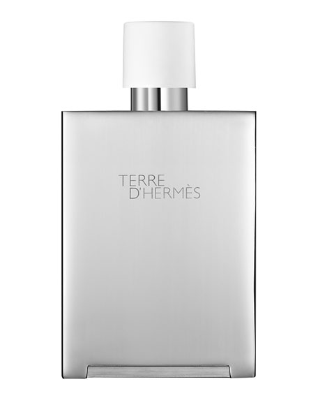 Terre d'Hermès Eau Très Fraîche Bel Objet Metal Refillable Spray, 5 oz./ 148 mL