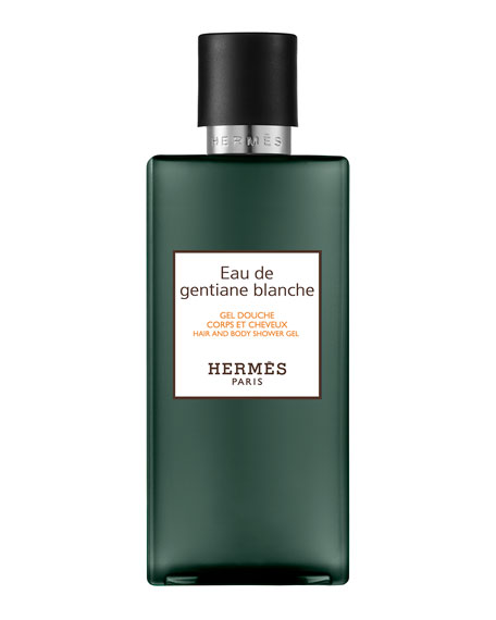 Eau de Gentiane Blanche Hair and Body Shower Gel, 6.5 oz./ 200 mL