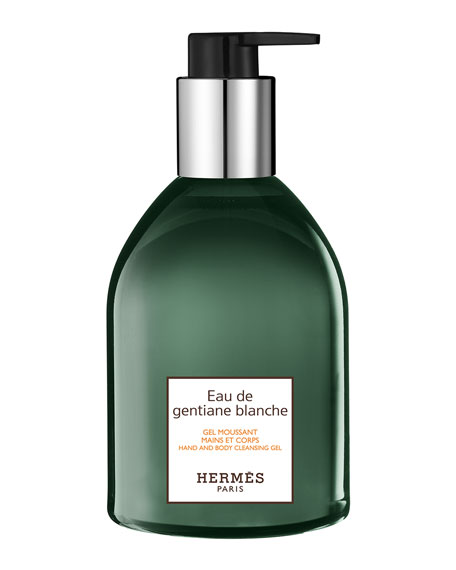 Eau de gentiane blanche Hand and Body Cleansing Gel, 10 oz.