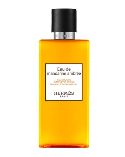 Eau de mandarine ambrée Hair and Body Shower Gel, 6.7 oz.