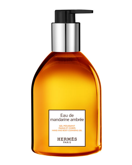 Eau de mandarine ambrée Hand and Body Cleansing Gel, 10 oz.