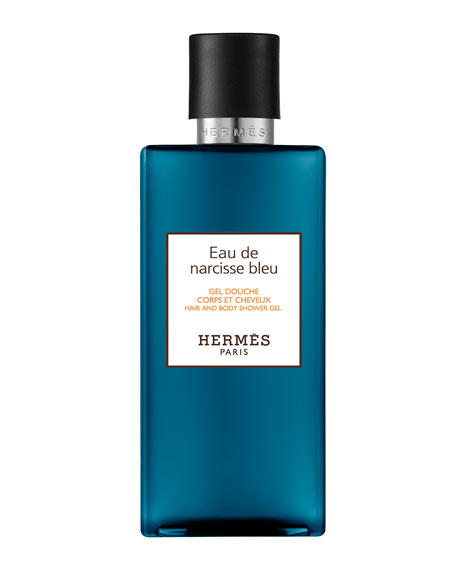 Eau de Narcisse Bleu Hair and Body Shower Gel, 6.7 oz.