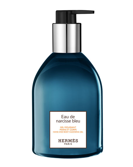 Eau de narcisse bleu Hand and Body Cleansing Gel, 10 oz.