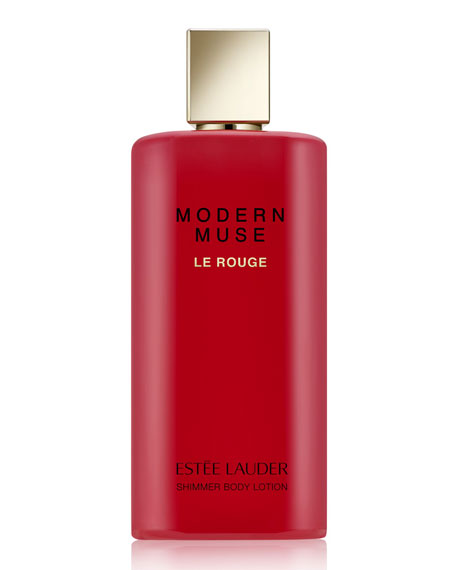 Estee LauderModern Muse Le Rouge Shimmer Body Lotion,