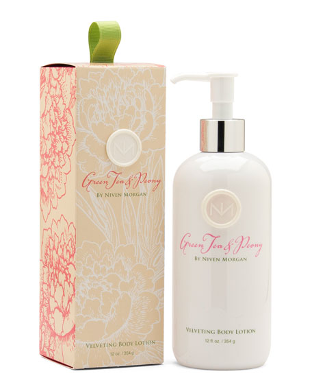 Green Tea & Peony Body Lotion, 12 oz.
