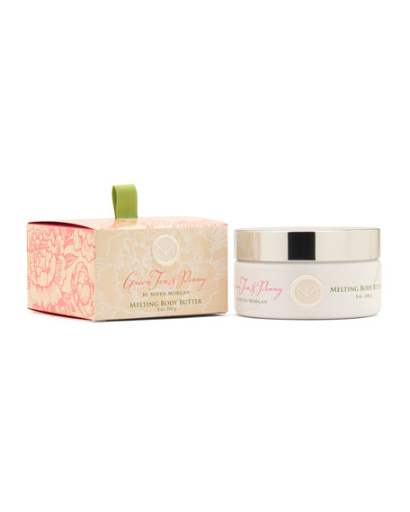 Niven Morgan Green Tea & Peony Body Butter,