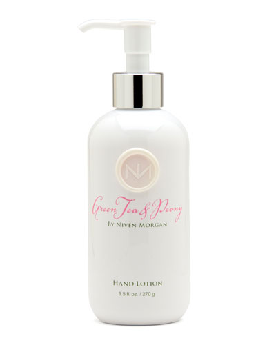Green Tea & Peony Hand Lotion  9.5 oz.