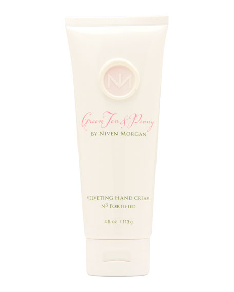 Niven Morgan Green Tea & Peony Hand Cream,