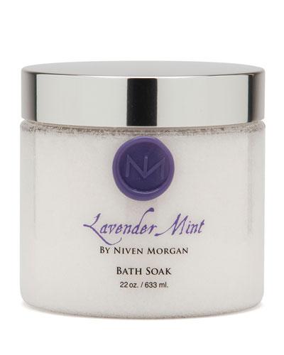 Lavender Mint Bath Salt Jar, 22 oz.