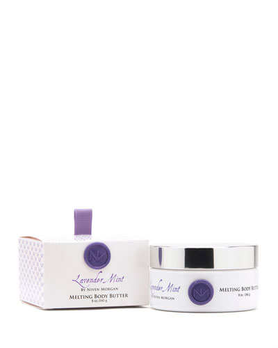Niven Morgan Lavender Mint Body Butter, 8 oz.