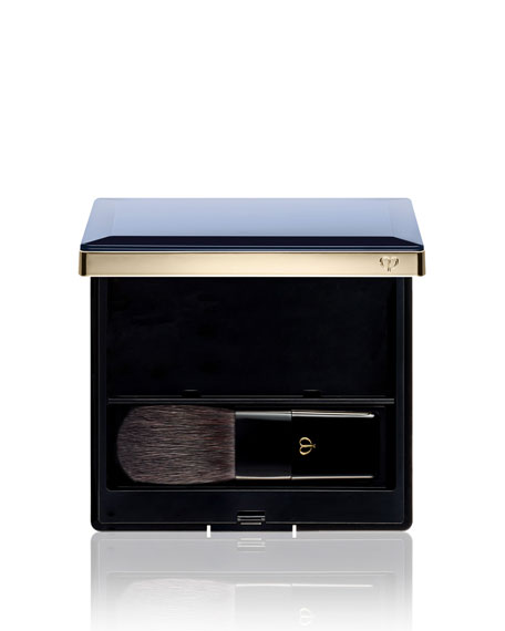 Cle De Peau Powder Blush Case & Brush
