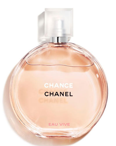 <b>CHANCE EAU VIVE </b><br>Eau de Toilette Spray 3.4 oz.