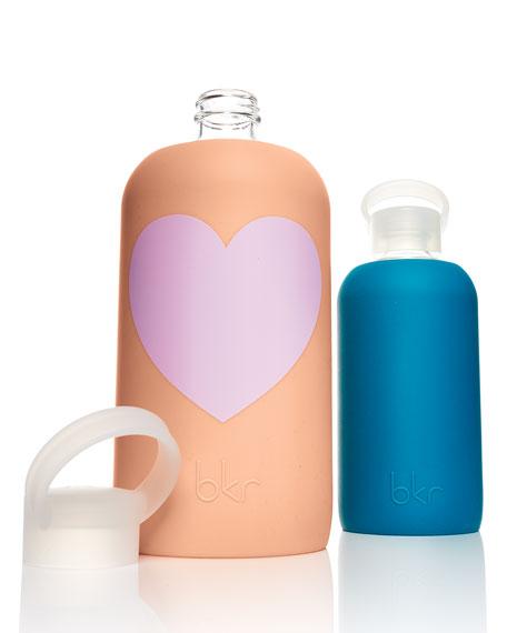 Glass Water Bottle, Sweet Heart, 1L