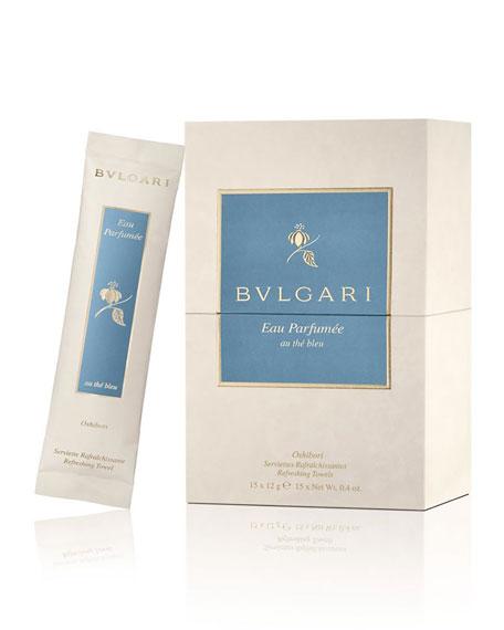 BVLGARIEau Parfumée Au Thé Bleu Refreshing Towels