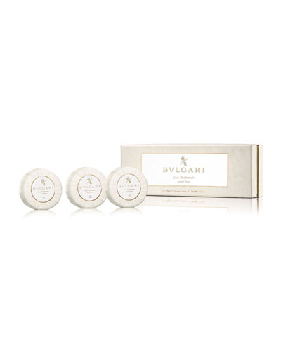 Eau Parfumée Au Thé Blanc Soap Set  3 x 150g