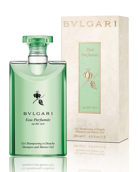 Eau Parfumée Au Thé Vert Bath and Shower Gel, 6.8 fl. oz.