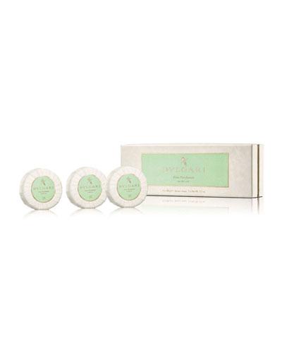 Eau Parfumée Au Thé Vert Soap Set  3 X 150g
