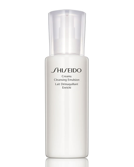 Shiseido Creamy Cleansing Emulsion, 6.7 oz.
