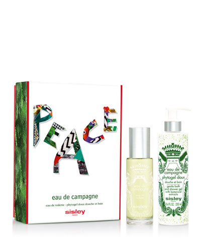 Limited Edition Eau de Campagne Peace Set