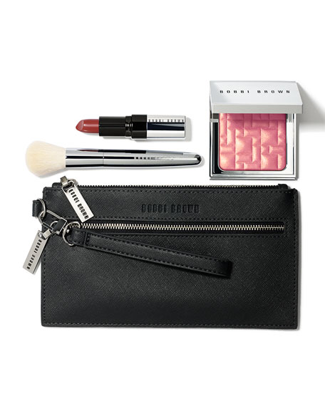 bobbi brown pink collection makeup kit