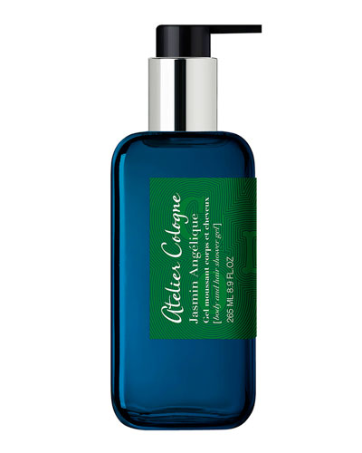 Jasmin Angelique Body and Hair Shower Gel, 8.9 oz.
