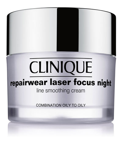 Repairwear Laser Focus Night Line Smoothing Cream - Combination Oily to Oily, 1.7 oz.