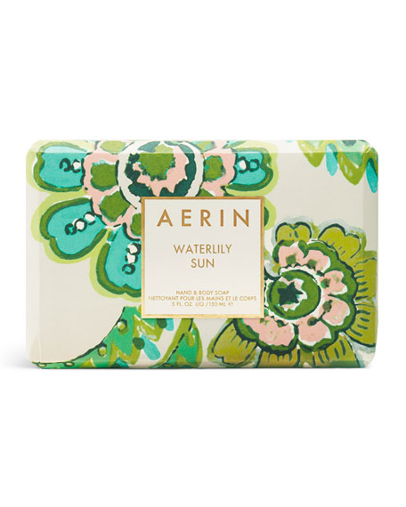 AERIN Beauty Limited Edition Waterlily Sun Soap Bar