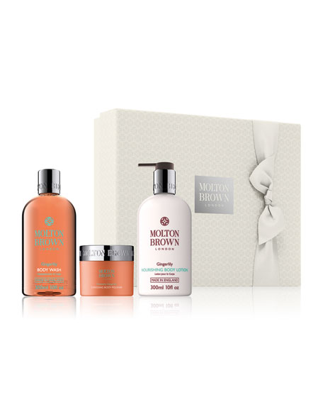Molton Brown NM Exclusive Heavenly Gingerlily Caressing Body Gift Set  ($87 Value)