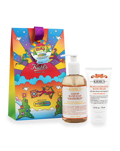 Limited Edition Holiday Hand Duo, Grapefruit by Peter Max