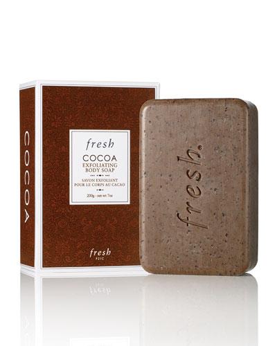 Cocoa Exfoliating Body Soap, 7.0 oz.