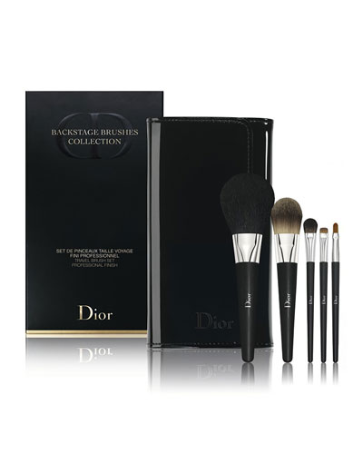 Limited Edition Backstage Brushes Collection Travel Brush Set