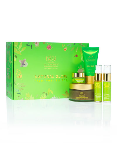 Limited Edition Natural Glow from Head to Toe Holiday Body Set